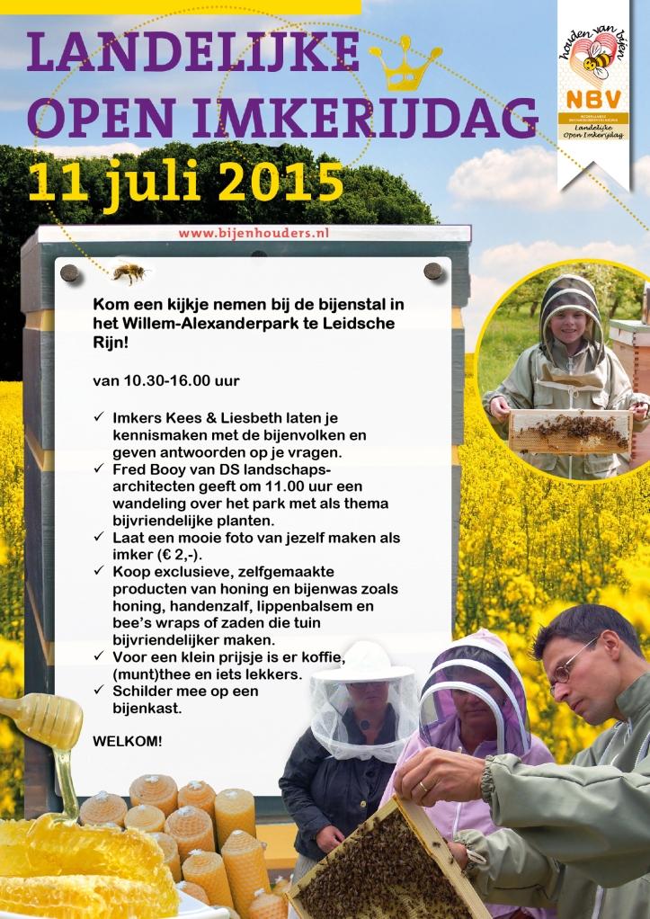 Landelijke Imkerijdagen 2015
