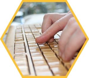 Gertine_toetsenbord_Hexagon