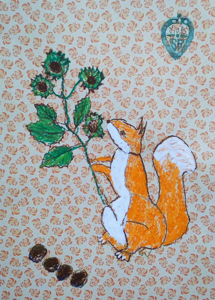 Squirrel Nutkin by Shafiq.