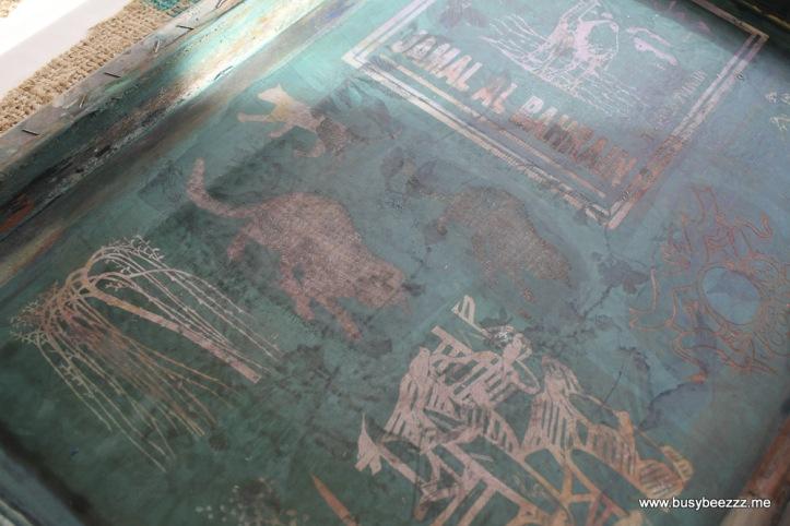zeefdrukken textiel BusyBeezzz