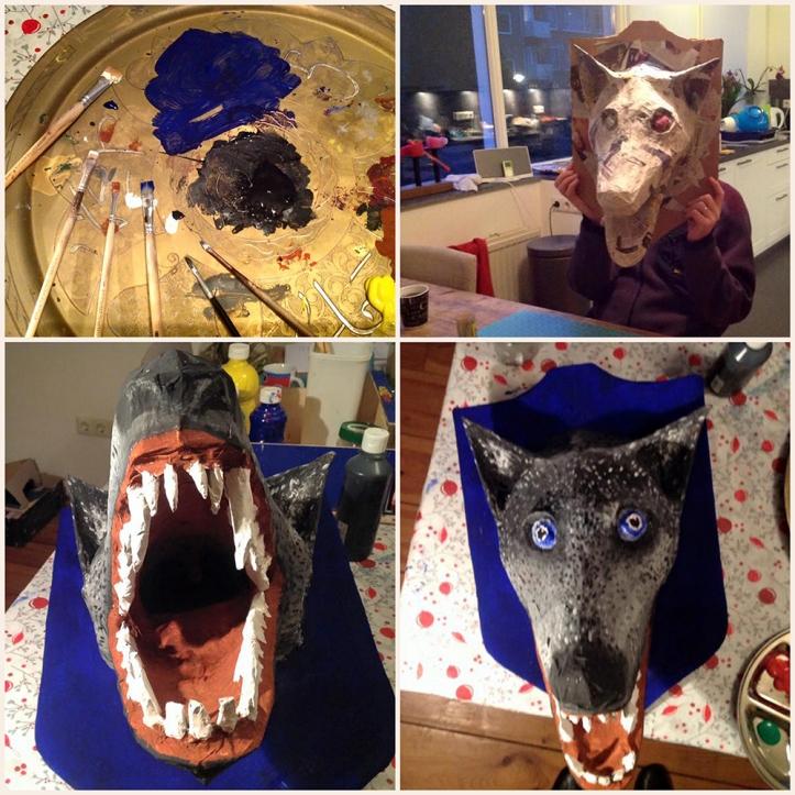 surprise sinterklaas wolf