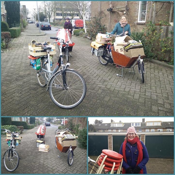 In alle opzichten goed ingepakt op weg naar de kerstmarkt in Oog in Al.