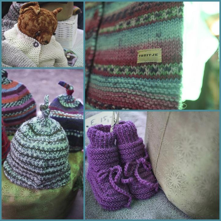 Tante Truitje breit prachtige babykleertjes van topkwaliteit. We like!!!