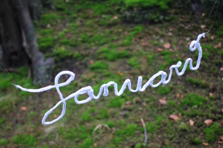 januari gehaakt letters diy bos mos park clingendael