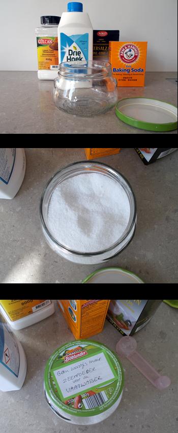 afwaspoeder zelf maken