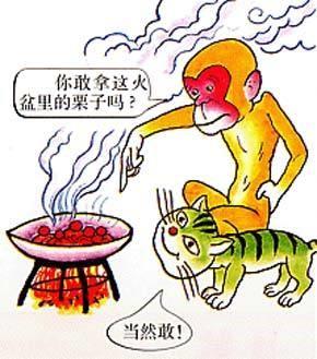 kastanjes uit het vuur halen