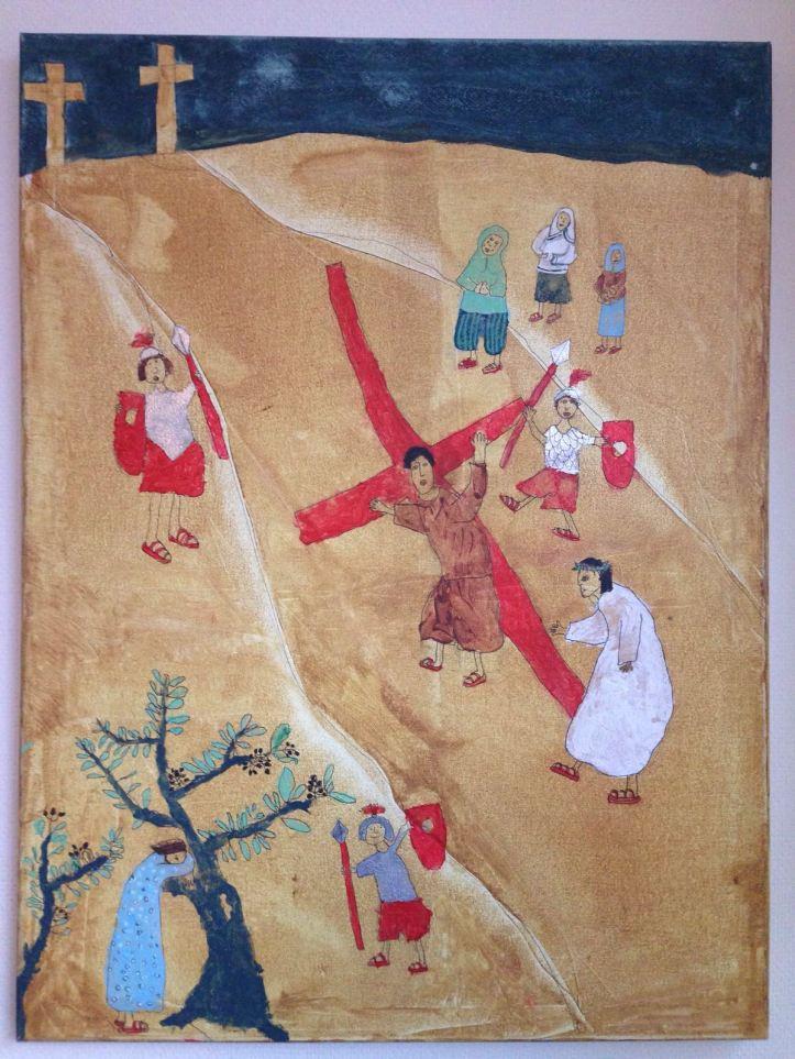 Simon van Cyrene, kruisweg, lijdensweg, Goede Vrijdag, Jezus