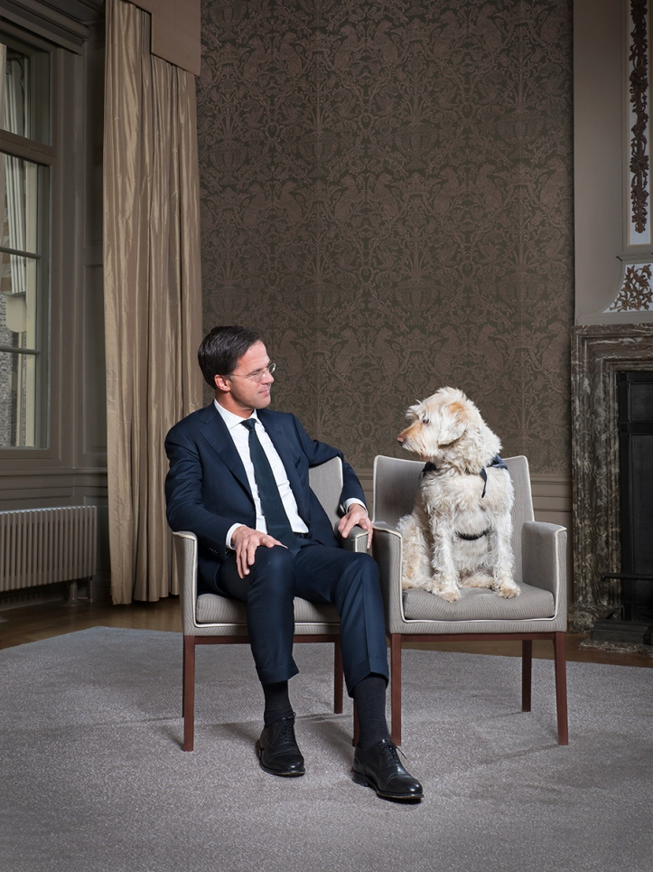Foto van Mark Rutte door Jeronimus van Pelt